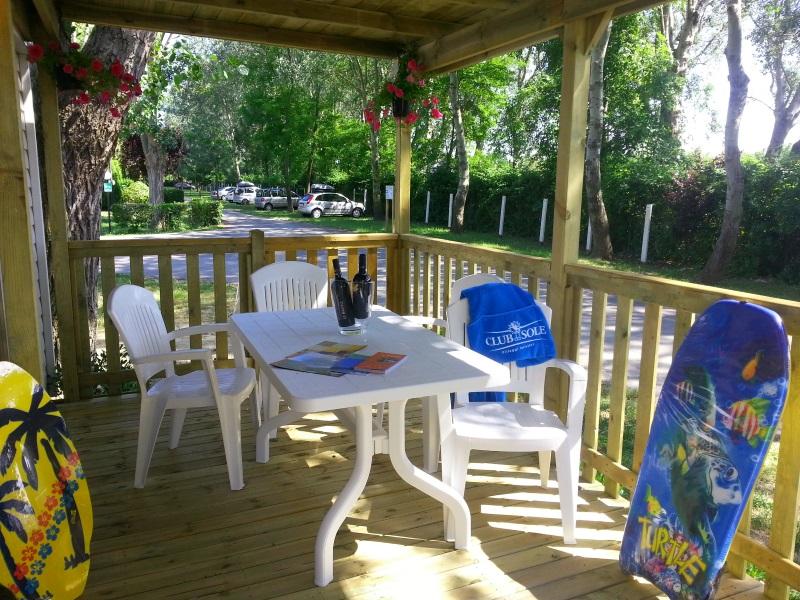 Vacanze in mobil home cottage elle adriano camping village - Bagno cayo loco lido di classe ...